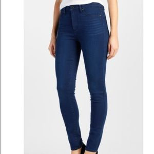 Paige Hoxton High Rise Ultra Skinny Jeans- Warren